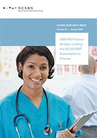 2008 RN Practice Analysis: Linking the NCLEX-RN Examination to Practice (Vol. 36)