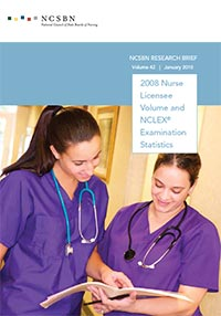 2008 Nurse Licensee Volume and NCLEX Examination Statistics (Vol. 42)