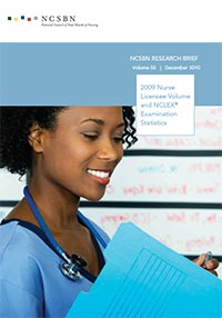 2009 Nurse Licensee Volume and NCLEX Examination Statistics (Vol. 50)