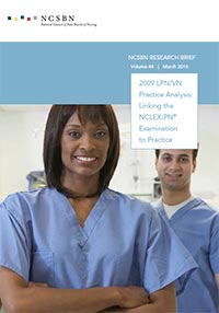 2009 LPN/VN Practice Analysis: Linking the NCLEX-PN Examination to Practice (Vol. 44)