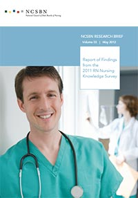 Report of Findings from the 2011 RN Nursing Knowledge Survey (Vol. 55)