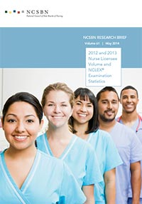 2012 and 2013 Nurse Licensee Volume and NCLEX Examination Statistics (Vol. 61)