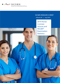 2014 NCLEX Stats cover