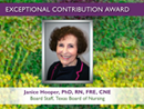 Watch 2015 Award Recipient - Janice Hooper Video