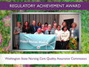 Watch 2015 Award Recipient - Washington State Nursing Care Quality Assurance Commission Video