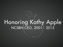 Watch Honoring Kathy Apple Video