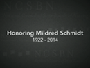 Watch Honoring Mildred Schmidt Video