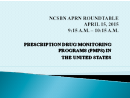 Watch Keynote: Prescription Drug Monitoring Programs in the United States Video