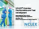 Watch NCLEX Overview: Psychometrics and Test Development Video