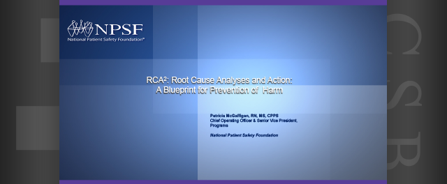 Root cause analysis and action a blueprint for prevention of harm root cause analysis and action a blueprint for prevention of harm ncsbn malvernweather Choice Image