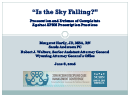 "Watch ""Is the Sky Falling?"" Prosecution and Defense of Complaints Against Advanced Nurse Practitioners Prescription Practices  Video"