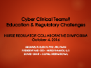 Watch Cyber Clinical Teams? Education and Regulatory Challenges Video