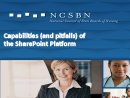 Watch Technology Track: Capabilities (and pitfalls) of a SharePoint Platform Video