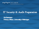 Watch Technology Track: Security Audit Preparedness Video