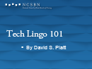 Watch Operations Track: Tech Lingo 101 Video