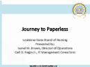 Watch The Paperless Journey Video