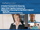 Watch A Practical Framework for Measuring Higher-Order Cognitive Constructs: An Application to Measuring Nursing Clinical Judgement Video