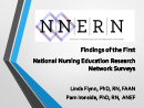 Watch Findings from the First National Nursing Education Research Network (NNERN) Survey Video