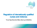 Watch Regulation of Internationally Qualified Nurses and Midwives Video