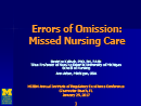 Watch Errors of Omission: How Missed Nursing Care Imperils Patients Video
