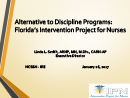 Watch Intervention Project for Nurses: Florida's Alternative to Discipline Program Video