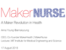 Watch Keynote: A Maker Revolution in Health Care Video