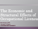 Watch Causes and Consequences of Occupational Licensing Video