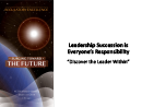 Watch Leadership Succession Committee Forum Video