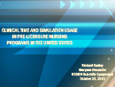 Watch Education: An Update to the NCSBN Simulation Study: A Review of Simulation in Nursing Education Video