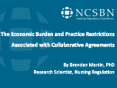 Watch Regulation: The Economic Burden and Practice Restrictions Associated with Collaborative Practice Agreements: A National Survey of Advanced Practice Registered Nurses Video