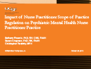 Watch Practice: Enhancing Psychiatric Mental Health Nurse Practitioner Practice: Impact of State Scope of Practice Regulations and the Practice Environment Video