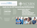 Watch Practice: Results from the 2017 National Nursing Workforce Survey Video