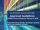 Watch Nursing Education Approval Guidelines - Segment 1 Video