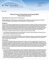 2010 Policy Position Statement