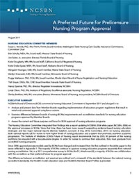 A Preferred Future for Prelicensure Nursing Program Approval