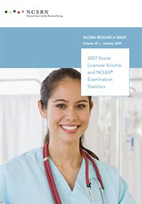 2007 Nurse Licensee Volume and NCLEX Examination Statistics (Vol. 35)