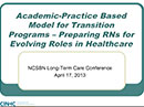Watch California Institute for Nursing & Health Care's Transition to Practice Program in Long-term Care Video