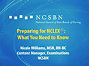 Watch Helping Candidates Prepare for the NCLEX Video
