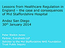 Watch Lessons from Health Care Regulation in England Video