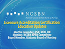 Watch Licensure Accreditation Certification Education Updates Video