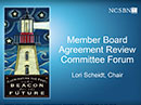 Watch Member Board Agreement Review Committee Video