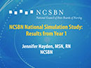 Watch NCSBN National Simulation Study: Results from Year 1 Video
