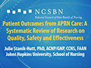 Watch Patient Outcomes from APRN Care: A Systematic Review of Research on Quality, Safety and Effectiveness Video