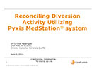Watch Reconciling Diversion Activity Utilizing Automated Medication Dispensing Products Video
