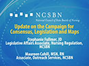 Watch Update on the Campaign for Consensus, Legislation and Maps Video