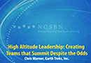 Watch High Altitude Leadership Video
