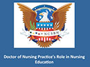 Watch Regulatory Knowledge Network Debate - Doctor of Nursing Practice's Role in Nursing Education  Video