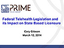 Watch Prime Policy: Impact on Statebased Licensure Video