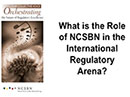 Watch The Role of NCSBN in the International Regulatory Arena Video